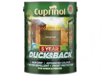 Ducksback 5 Year Waterproof for Sheds & Fences Forest Oak 5 litre